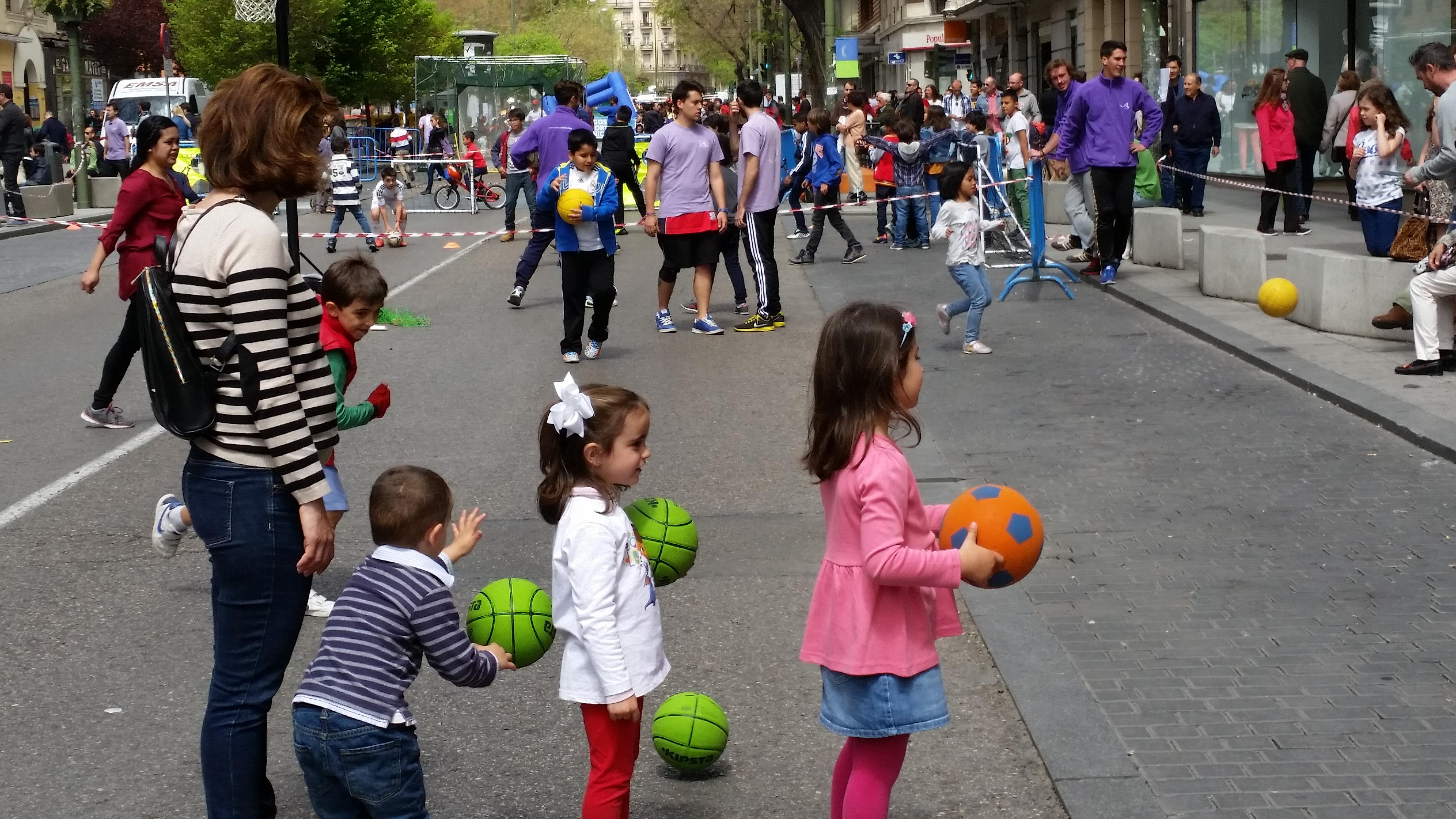 Día del Deporte en Fuencarral
