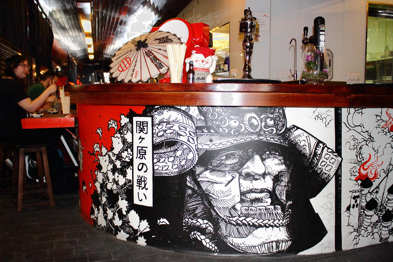 Hattori Hanzo en la Japan Restaurant Week