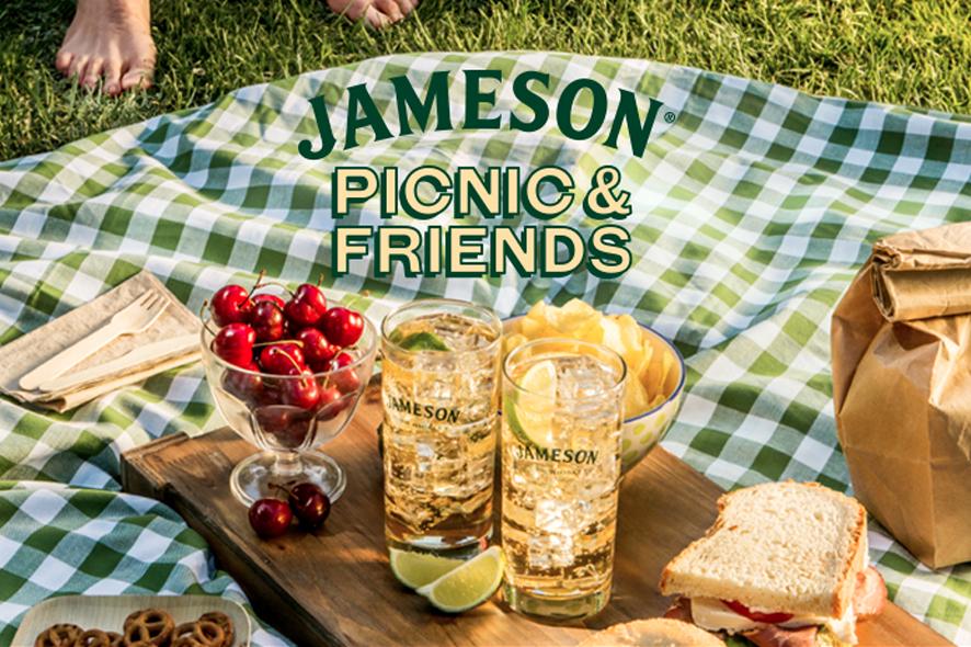 Urban picnic con Jameson