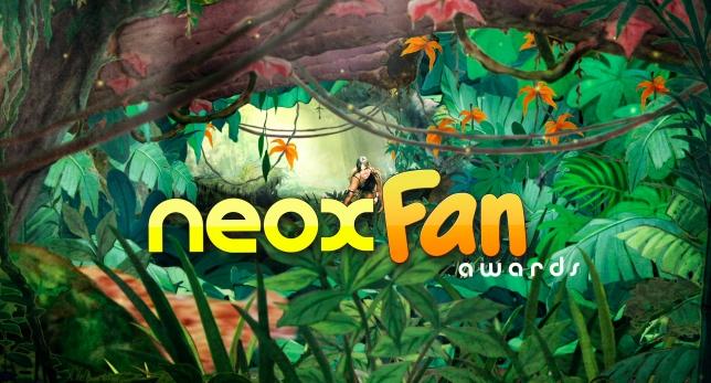 Alfombra Naranja de los Neox Fan Awards