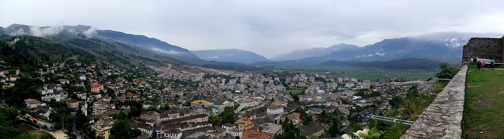 Panóramica de Gjirokastra