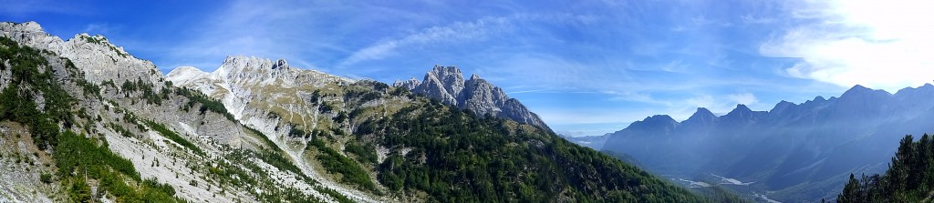Panorámica Parque de Valbona