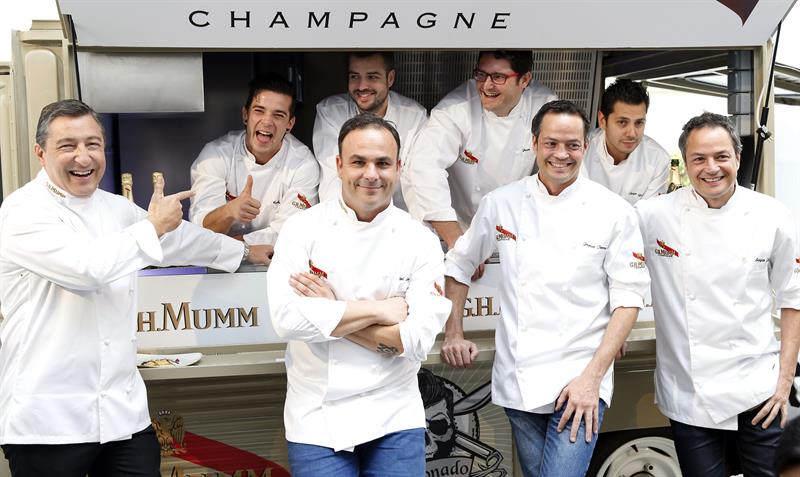 G.H. Mumm: entre fogones y champagne