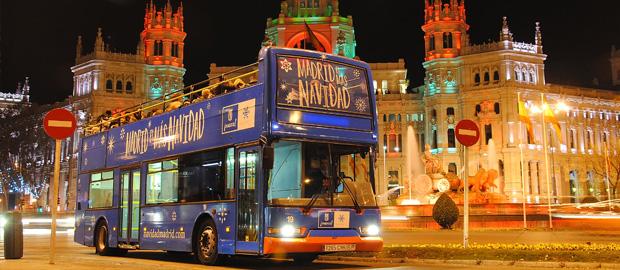 Vuelve a Madrid el 'Bus de la Navidad'