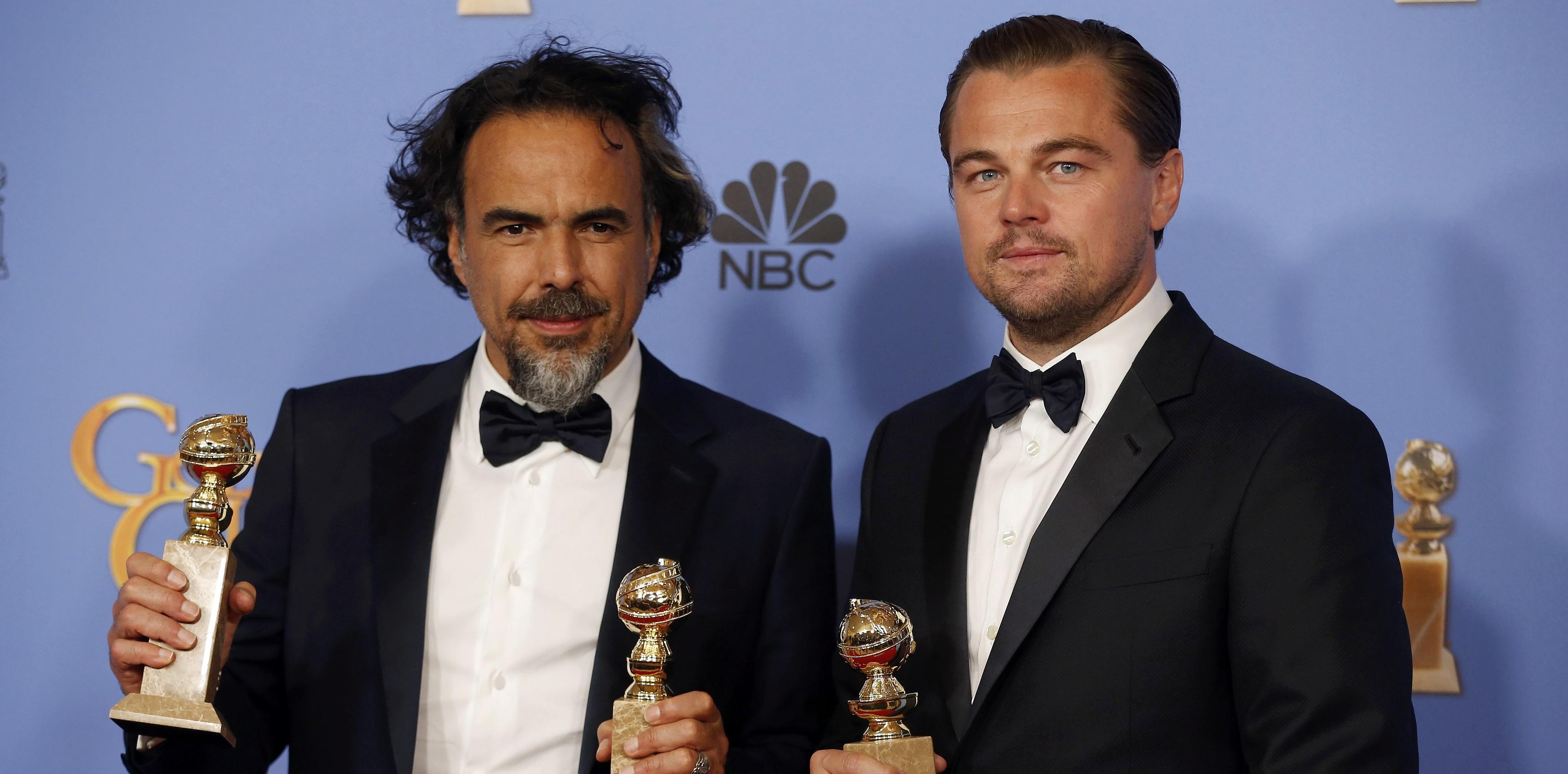 Iñárritu triunfa con 'El Renacido' en los Globos de Oro