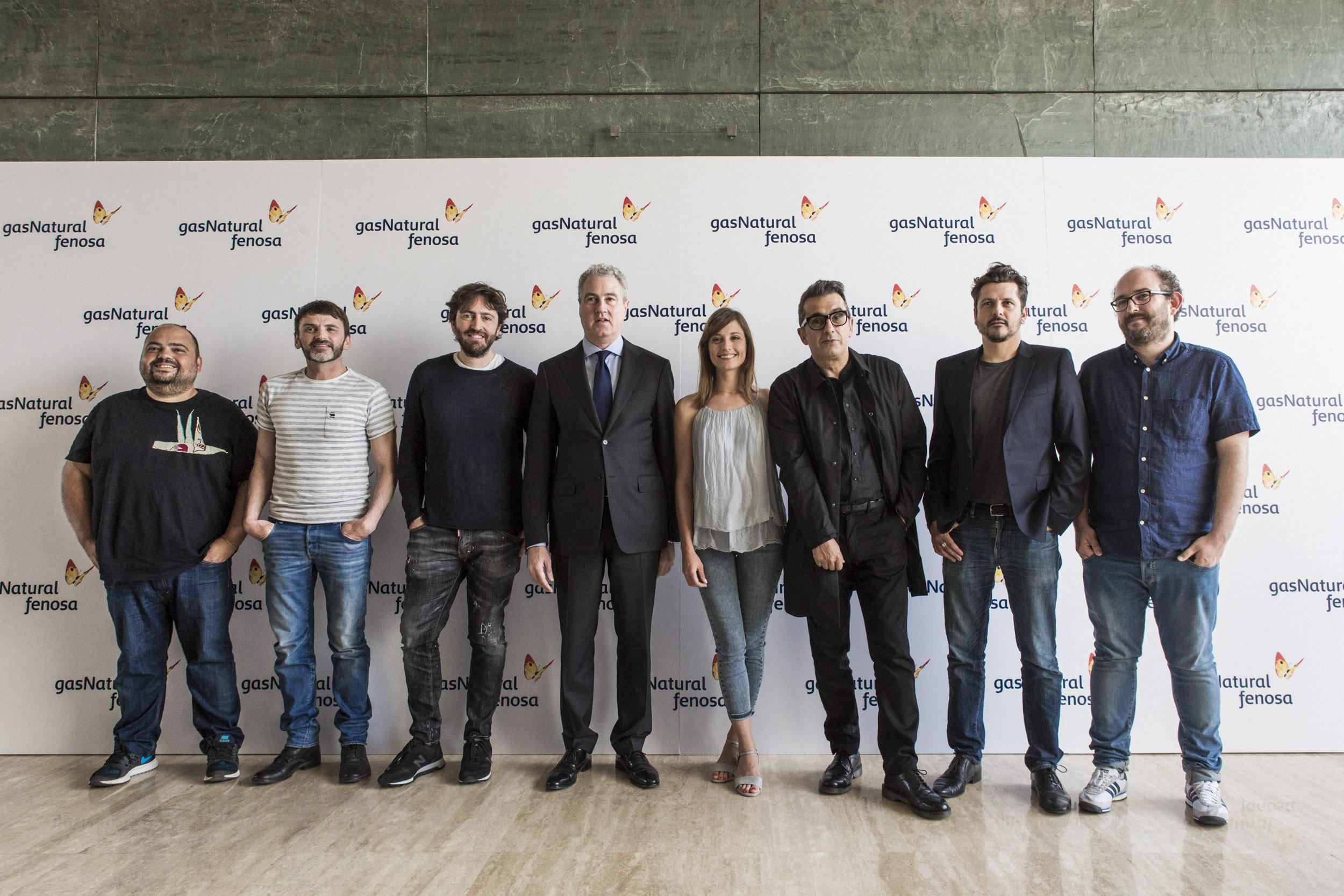 Daniel Sánchez Arévalo, Kike Maíllo, Borja Cobeaga y Alberto Ruiz Rojo, juntos en CINERGÍA