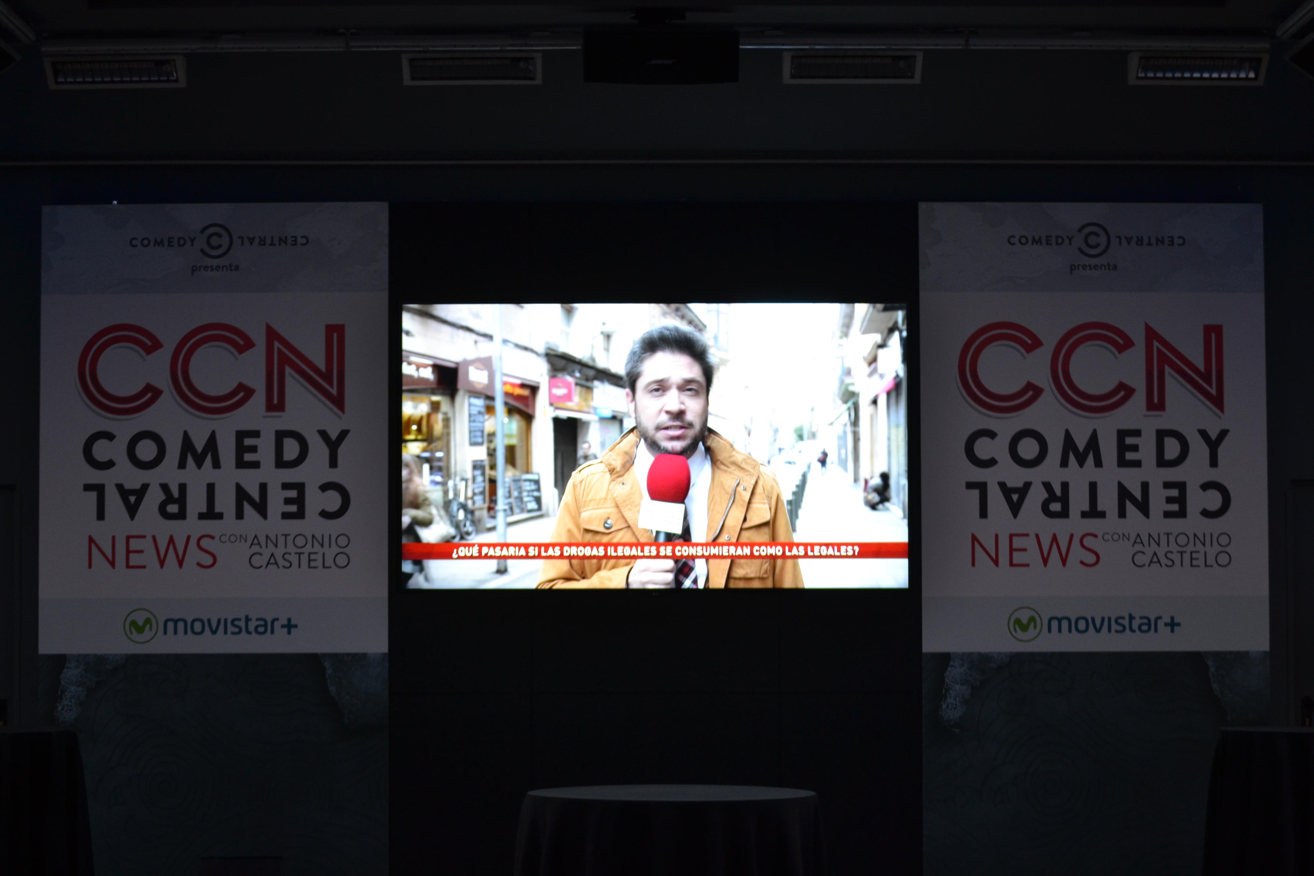 """Estreno de """"Comedy Central News"""", un programa de televisión donde la actualidad dejará de ser lo que algún día fue"""