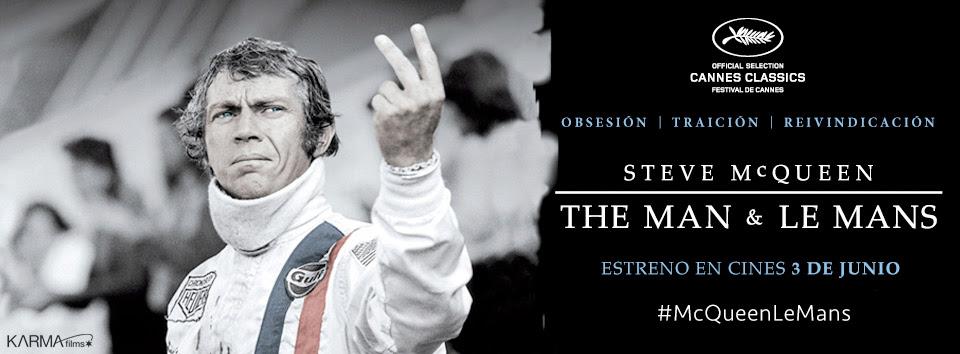 Steve McQueen, The Man & Le Mans