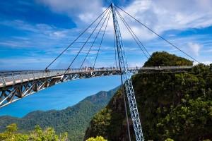 El puente más famoso de Malasia está en Langkawi