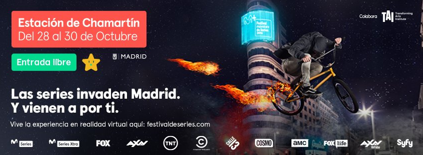 ¡Las series invaden Madrid!
