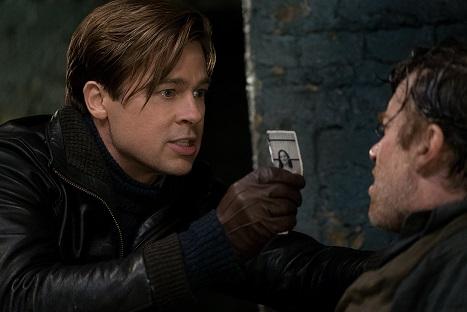 Brad Pitt es Max Vatan y Thierry Fremont es Paul Delamare en 'Aliados'
