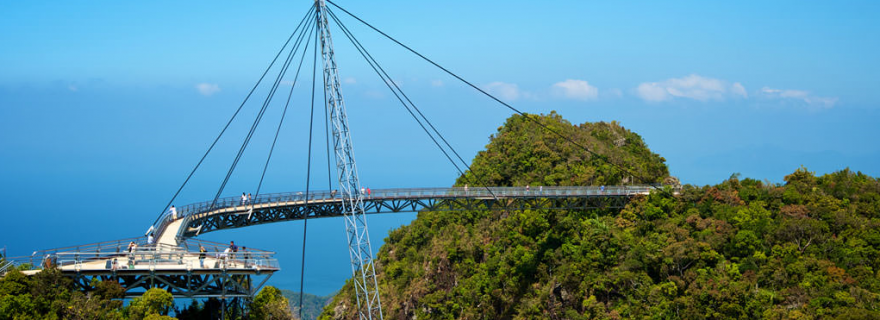 sky bridge lankawi malasia