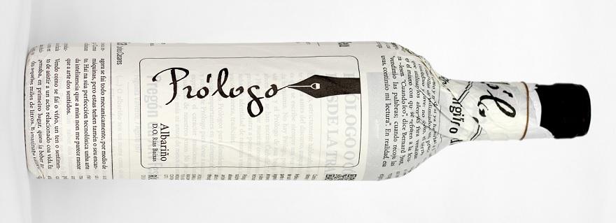 Prólogo, un vino ligado a la literatura