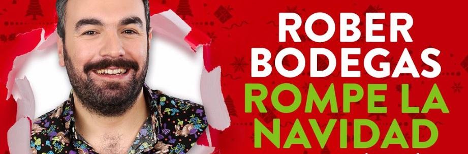 Rober Bodegas rompe la navidad en Comedy Central