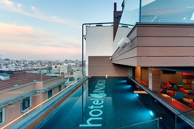 infinity pool Madrid