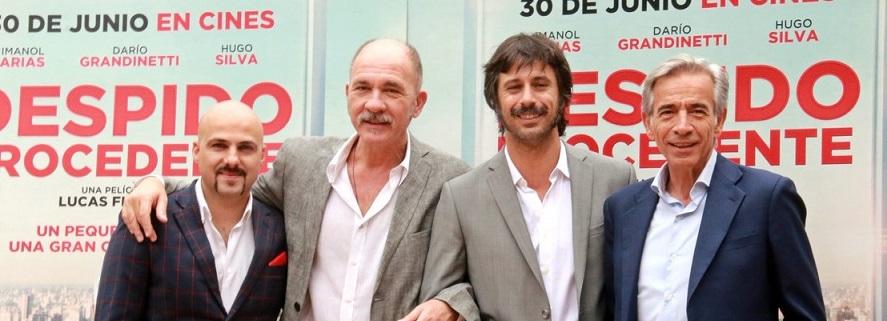 Hugo Silva e Imanol Arias presentan 'Despido Procedente'