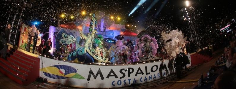 Vive los carnavales de Maspalomas