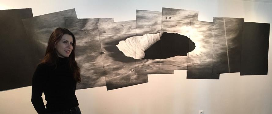 Caroline Corbasson, la ciencia a través del arte