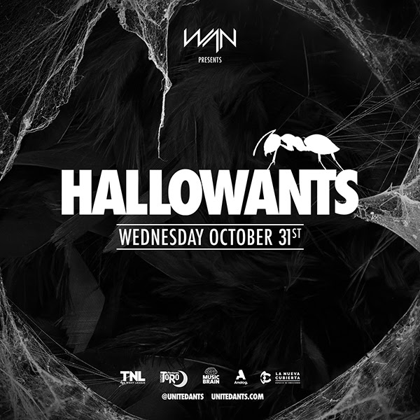 WAN presenta HallowANTS para la noche de Halloween