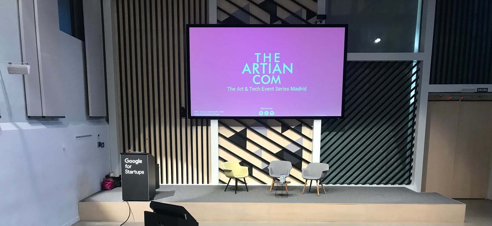 Google Campus, una fábrica de ideas emprendedoras en Madrid