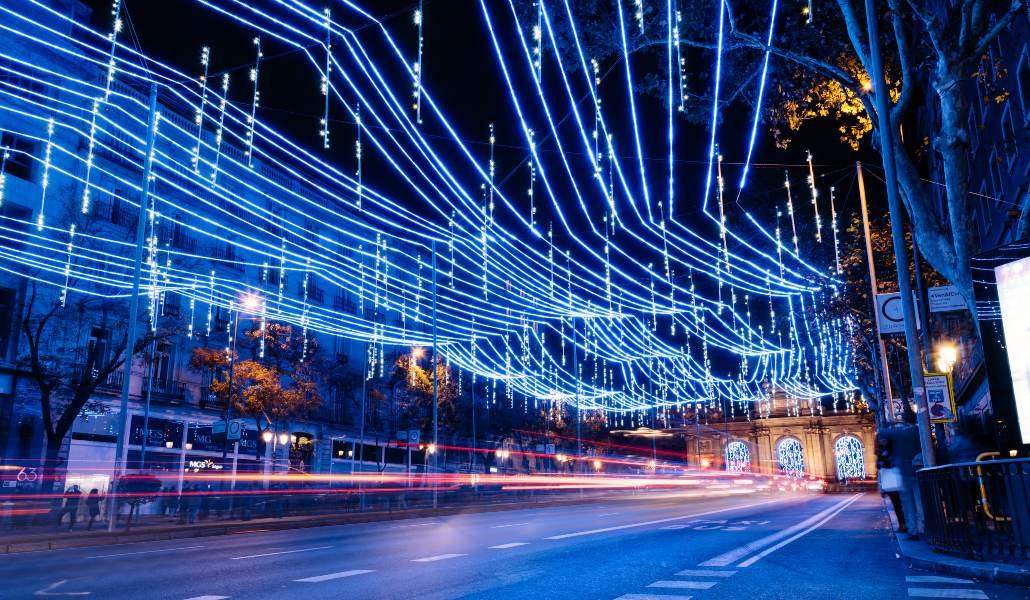 Madrid brilla con luz propia