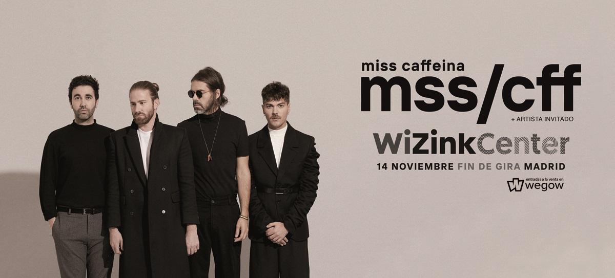 MISS CAFFEINA anuncia concierto de fin de gira en el WiZink Center de Madrid